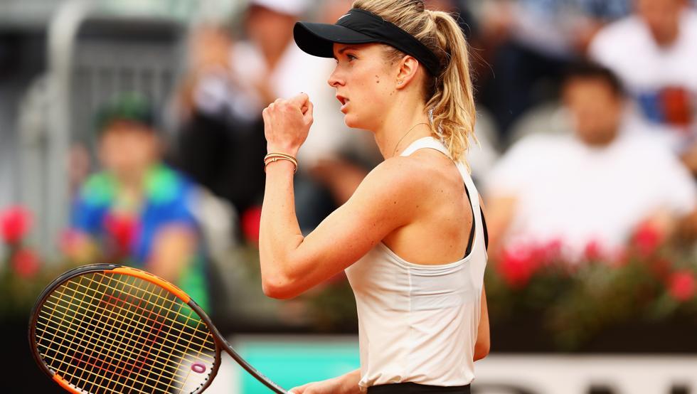 Internazionali d'Italia, avanzano Sharapova e Svitolina. Out Venus