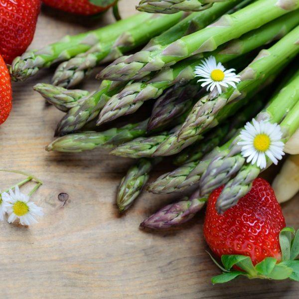 Salute a tavola, le 5 verdure da consumare a maggio