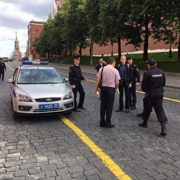 Mondiali, arrestato a Mosca attivista per i diritti dei gay