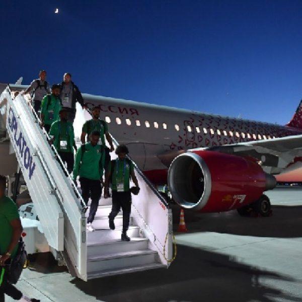 Mondiali, l'aereo della squadra dell'Arabia Saudita va in fiamme