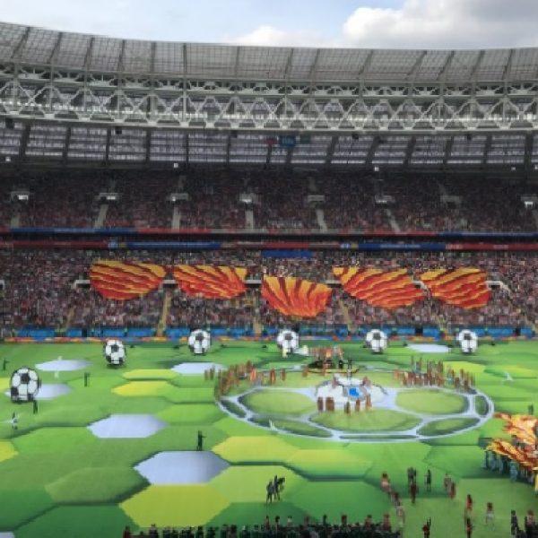 A Mosca prende il via il mondiale di calcio
