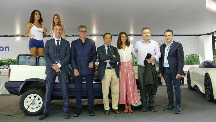 Torino, l'azienda siciliana Newtron al Salone dell'Auto