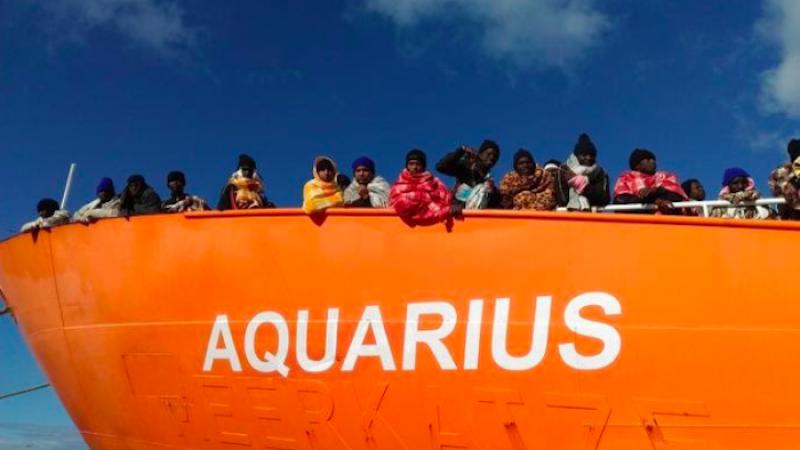 Oltre metà dei migranti dell'Aquarius vuole andare in Francia