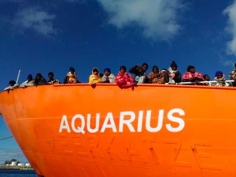 aquarius, due migranti nave aquarius annegati, annegati in mare migranti da nave aquarius