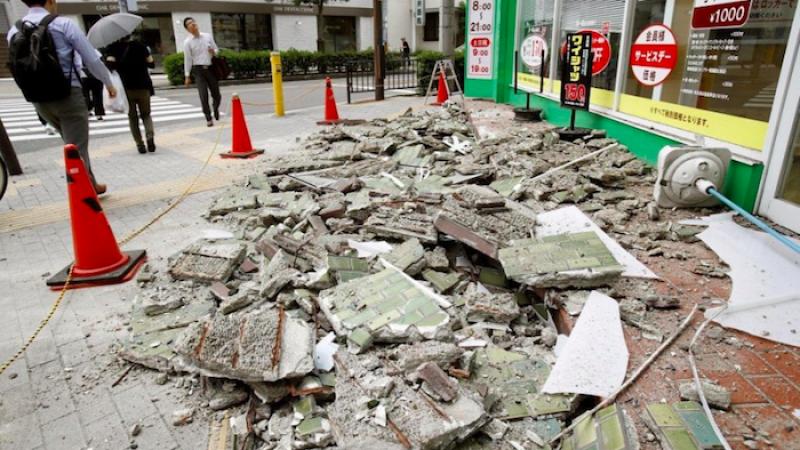 Osaka, forte scossa di terremoto: 3 morti e 40 feriti