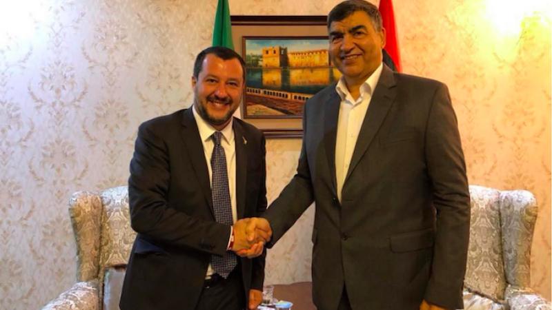Migranti, Salvini a Tripoli: