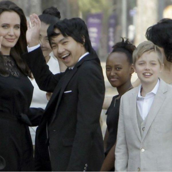 Jolie contro Pitt, a rischio l'affidamento primario