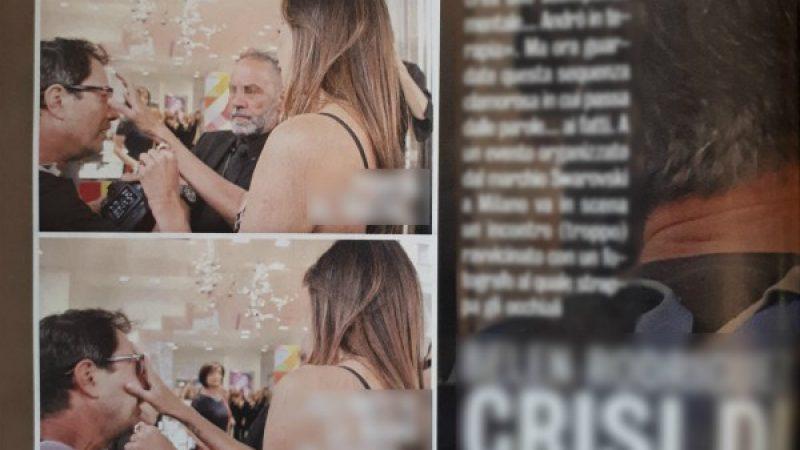 Belen litiga con un fotografo e gli strappa gli occhiali