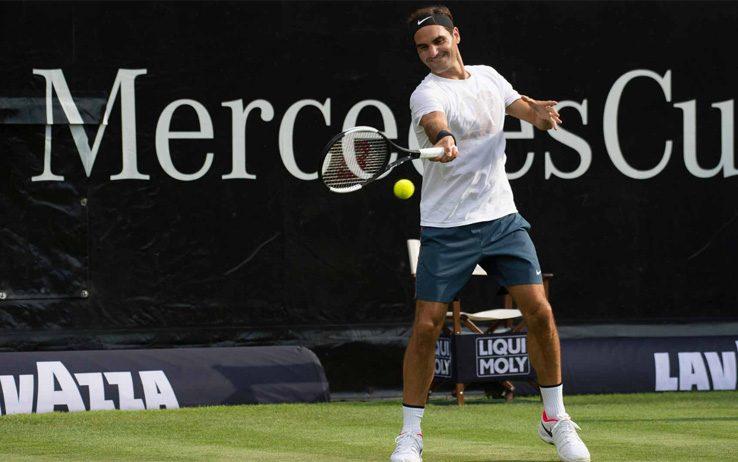 ATP Stoccarda, Federer batte Kyrgios e torna numero 1