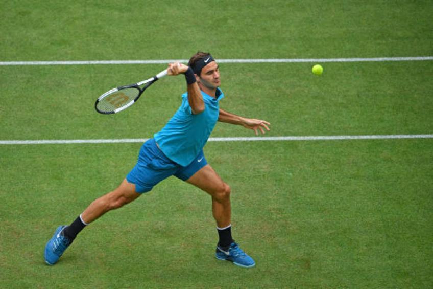 ATP Halle, Federer torna in semifinale. Domani sfida Kudla
