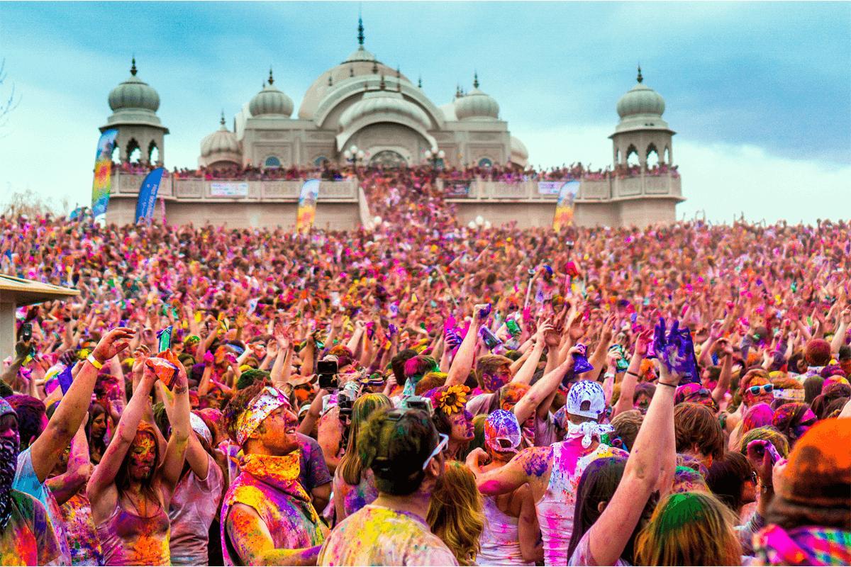 Holi Festival 2018, gli eventi da Nord a Sud