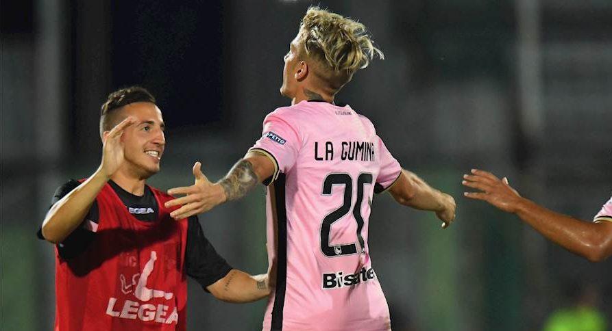 Palermo-Frosinone 2-1, le pagelle: La Gumina cinico, dramma Terranova
