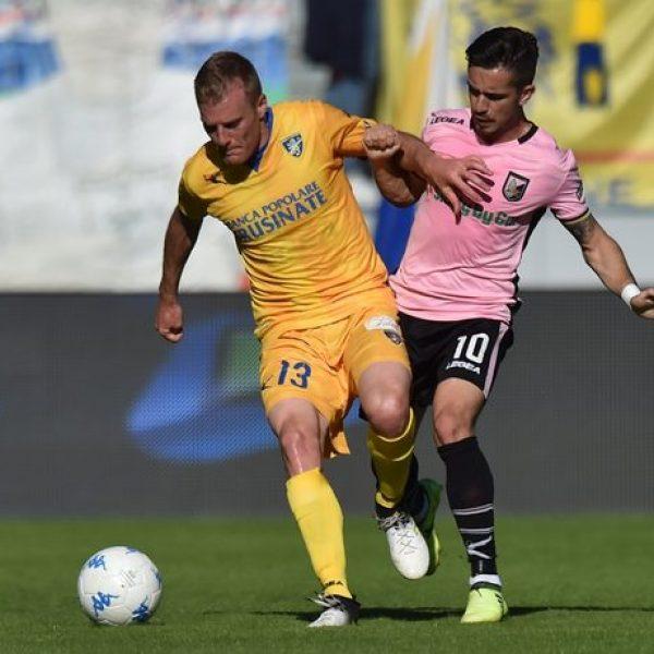 Il Frosinone è in Serie A, Palermo k.o. 2-0