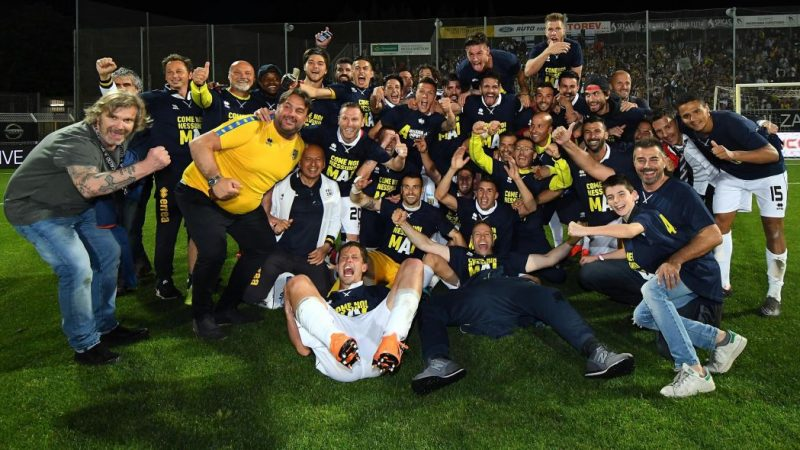 Sentenza Parma, 5 punti di penalizzazione da scontare in A