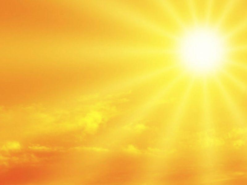 Arriva il caldo bollente africano: temperature fino a 38 gradi