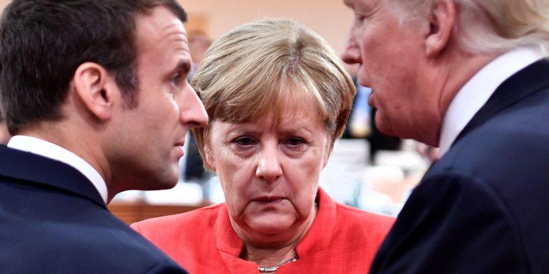 La visita di Trump in Europa
