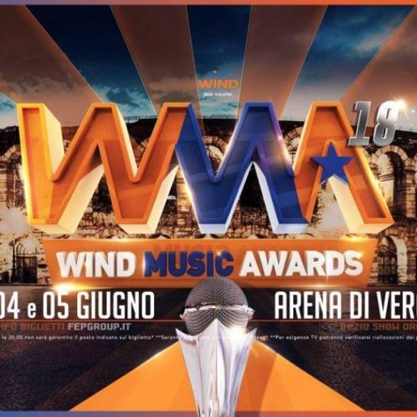 Wind Music Awards 2018, la scaletta di stasera