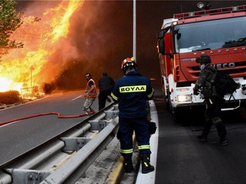Incendio Grecia: gemelle disperse morte abbracciate ai nonni