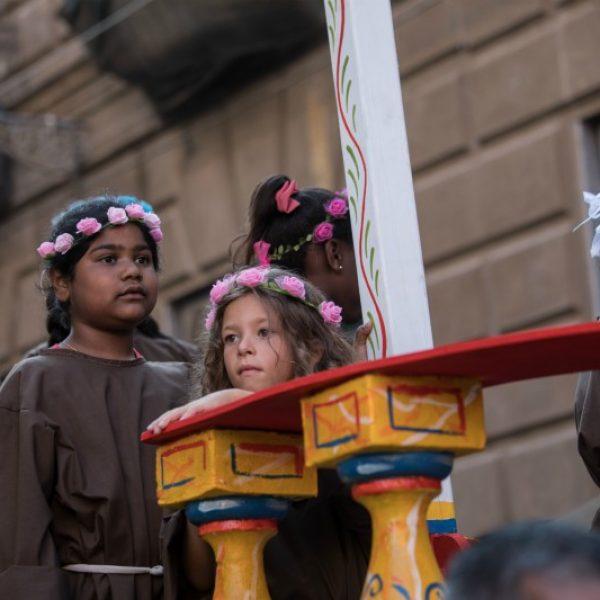 Festino di Santa Rosalia, in migliaia per il