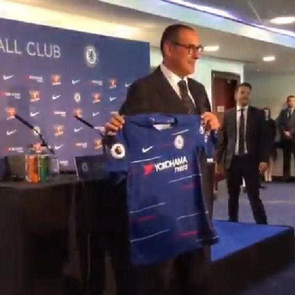 """Chelsea, il giorno di Sarri: """"Voglio imporre il mio gioco sul campo"""""""
