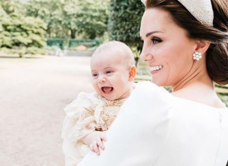 Battesimo royal baby, diffuse le foto ufficiali