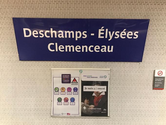 Mondiali, la metro di Parigi festeggia la Francia: stazioni dedicate ai Bleus
