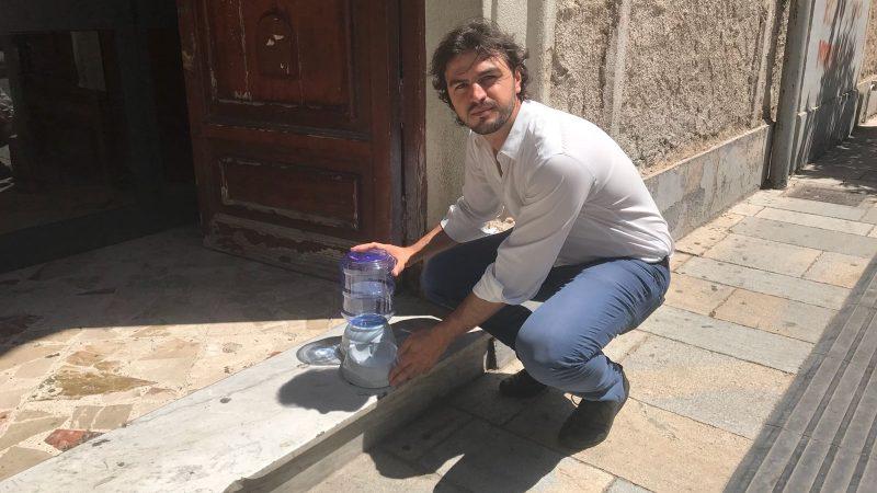 Bagheria, installati i primi dispenser d'acqua per randagi
