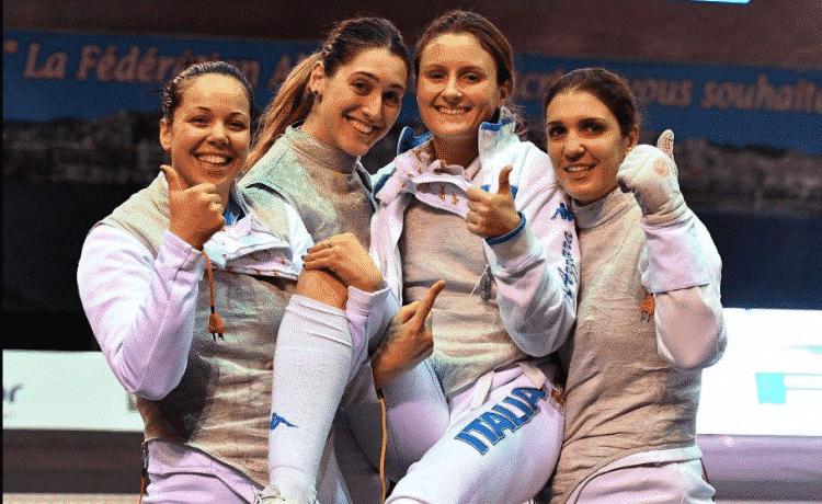 Mondiali scherma, solo argento per la squadra di fioretto femminile