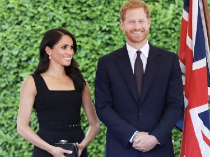 harry e meghan prima visita ufficiale all'estero