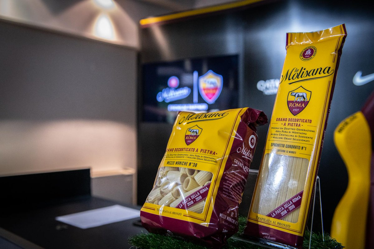 """""""La Pasta della Roma"""" presto in vendita in veste giallorossa"""