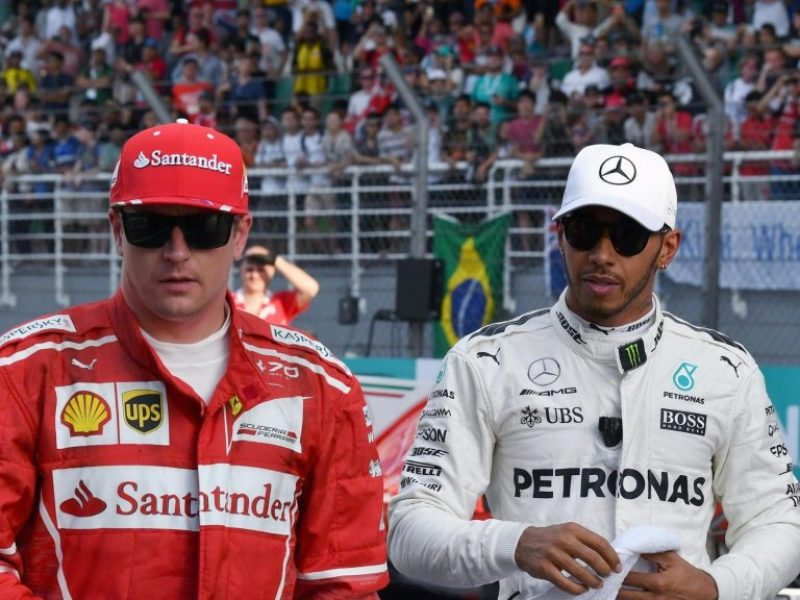 Hamilton, Raikkonen