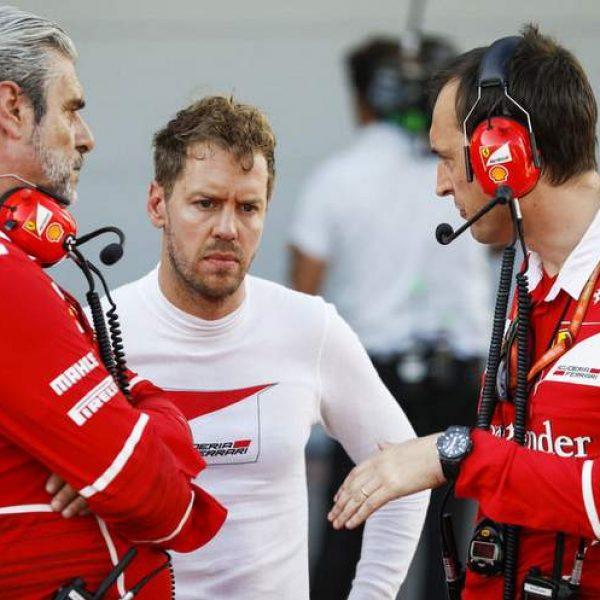 Ferrari, Vettel spara a zero su Raikkonen: