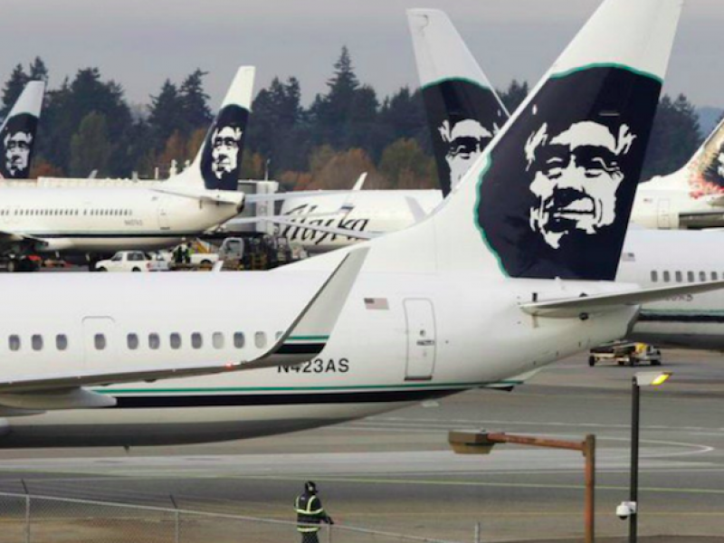 alaska airlines, incidente aereo seattle, incidente seattle, ruba aereo alaska, schianto aereo seattle