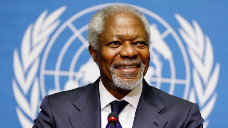 È morto Kofi Annan, ex segretario generale dell'Onu