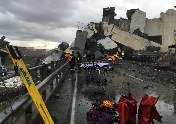 """Ponte Morandi, la commissione: """"Le misure di Autostrade erano inappropriate"""""""