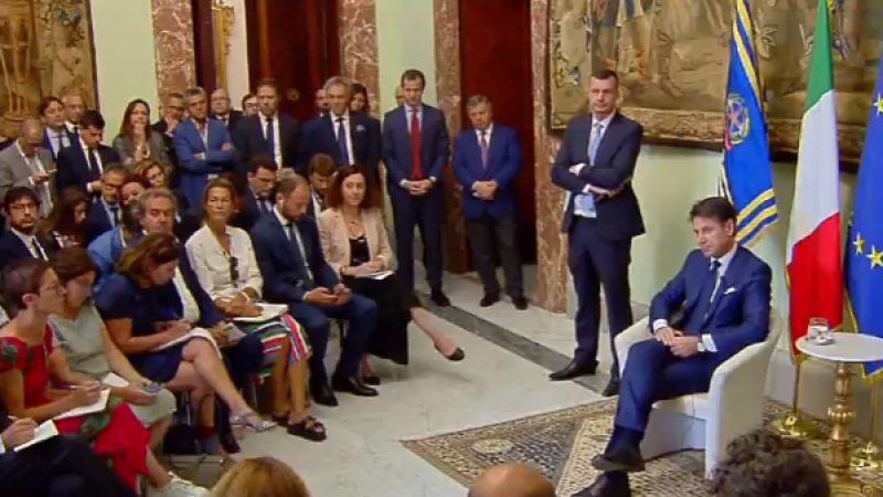 """Il premier Conte: """"La manovra sarà seria, rigorosa e coraggiosa"""""""