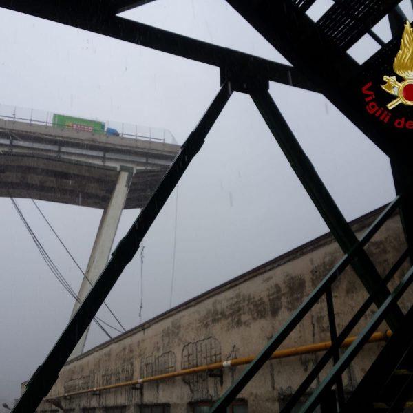 Ponte crollato, tra gli indagati Castellucci e Ferrazza
