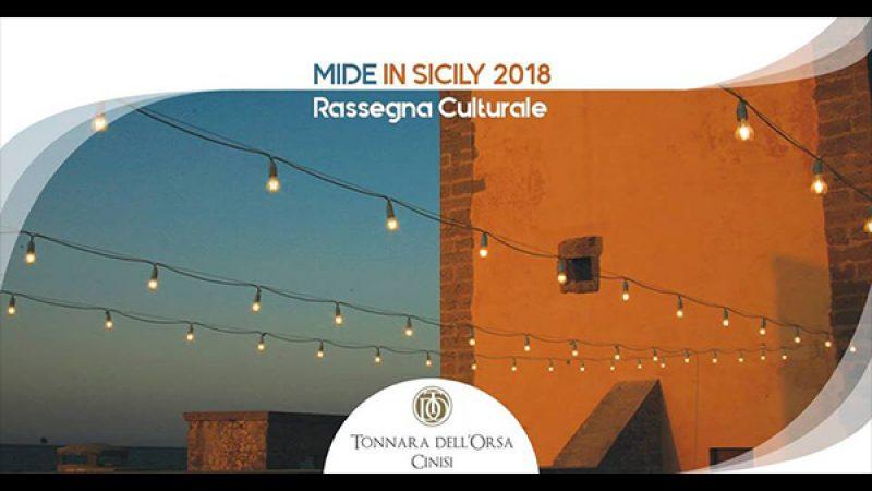 MIDE in Sicily 2018, un agosto ricco di eventi alla Tonnara dell'Orsa