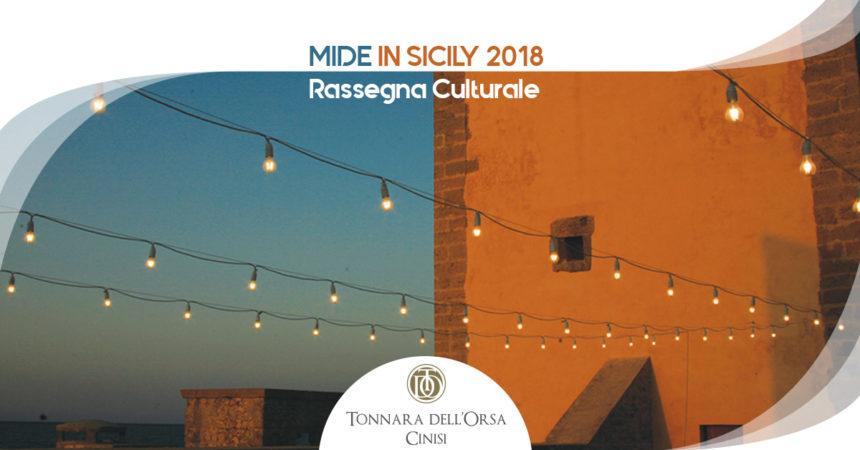 MIDE in Sicily 2018, al via la rassegna alla Tonnara di Cinisi