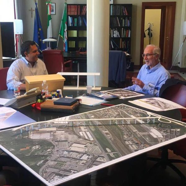 Viadotto Morandi, da Autostrade il progetto per la demolizione