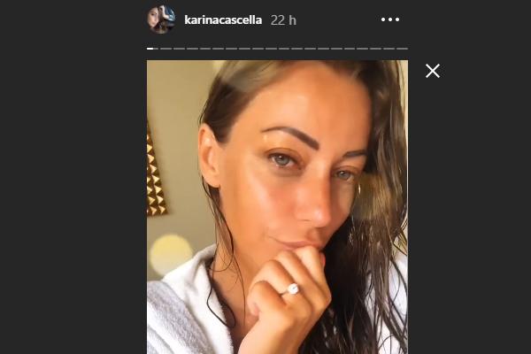 Gossip, proposta di matrimonio per Karina Cascella