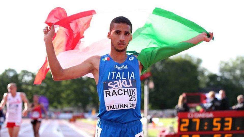 Europei atletica, Yassine Rachik bronzo nella maratona