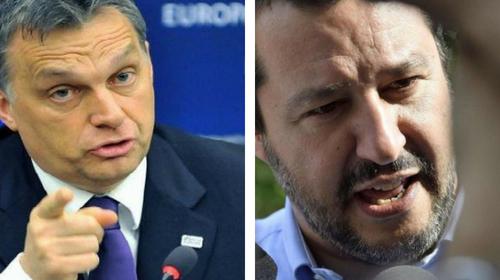 """Orban: """"L'immigrazione si può fermare"""", Salvini: """"Vicini a svolta storica per l'Ue"""""""