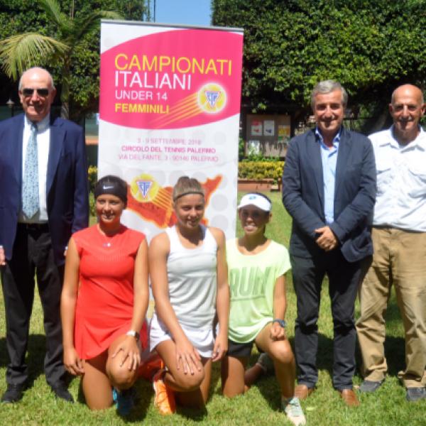 Tennis, a Palermo campionati femminili Under 14 e ITF juniores