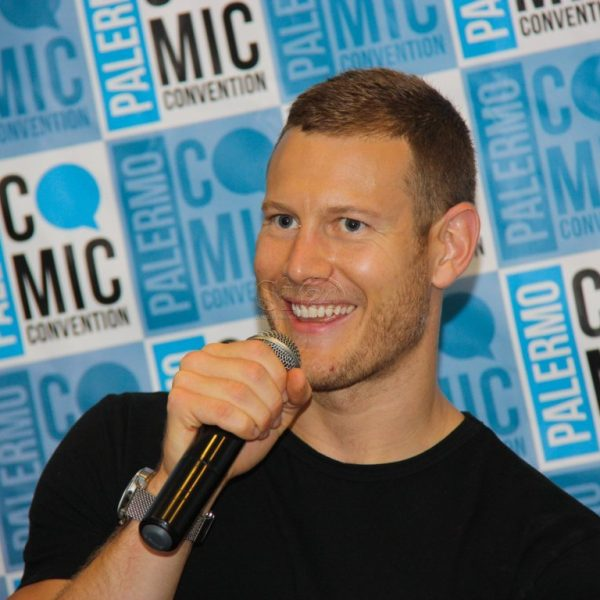 Serie tv, Tom Hopper alla Palermo Comic Convention