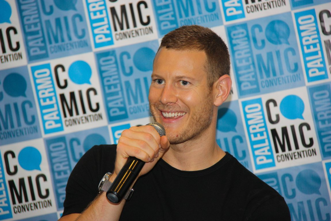 Serie tv, Tom Hopper alla Palermo Comic Convention