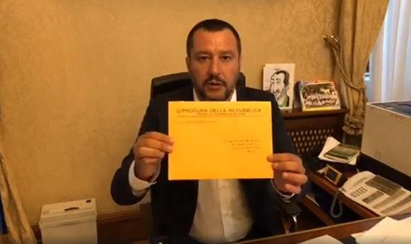 Nave Diciotti, Salvini indagato per sequestro di persona aggravato