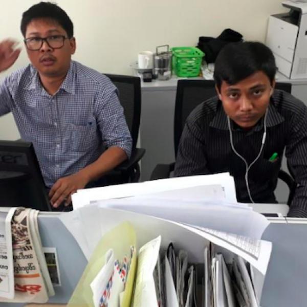 condanna giornalisti Myanmar, giornalisti Myanmar, Kyaw Soe Oo, Myanmar, Wa lone