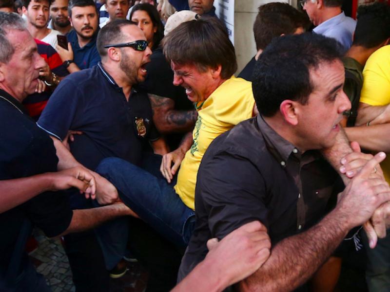 accoltellamento brasile, accoltellato politico destra, Adelio Bispo de Oliveira, Brasile, Jair Bolsonaro, Jair Bolsonaro accoltellato