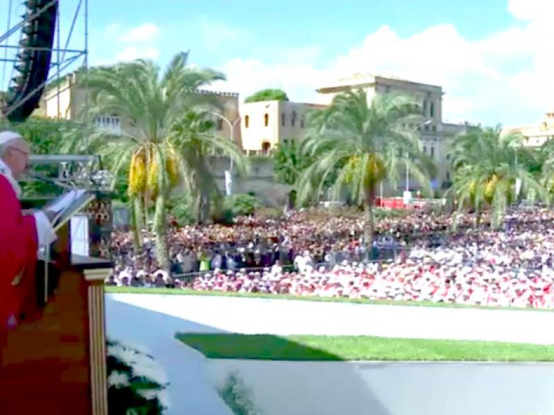 anniversario 3P, Papa Francesco, visita Papa Palermo, XXV anniversario morte Padre Pino Puglisi